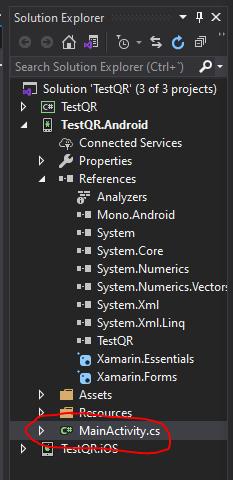 Xamarin Forms: Lector de código de barras/QR gratis 3