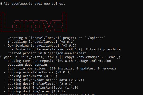 Instalación Laravel API REST JWT
