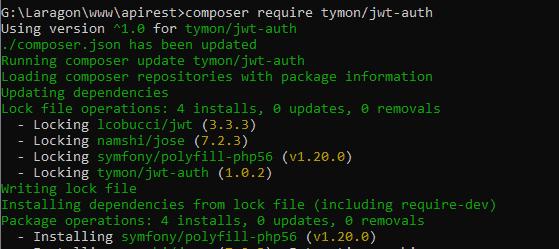Laravel 8 API REST JWT instalación JWT Auth
